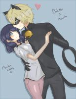 Miraculous Ladybug-Marichat by Sapphire240400