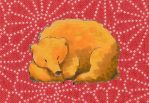 Sleeping Ginger Bear by Chorizowagon