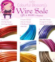 Wire Sale by colourful-blossom