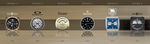 My UCCW Analog Clock Skins by niteowl360