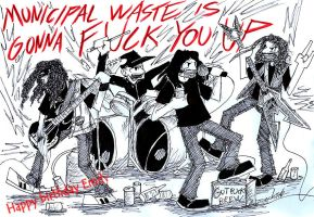 Municipal waste berfday card for Emily by the-ChooK