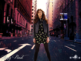 Amy Pond - In The City by feel-inspired