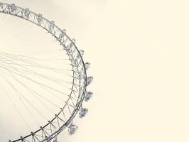 London Eye Wallpaper by spencereholtaway
