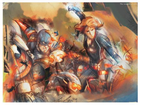 And I Won't Be Afraid - [Avengers: Age of Ultron] by The-Longfall-of-1979