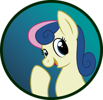 Bon Bon Button by SweetTextArt