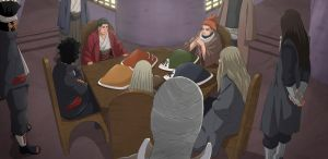 Shodai kages meeting by watzumoro