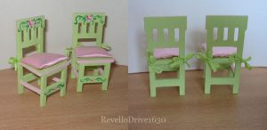 Dollhouse Chairs by RevelloDrive1630
