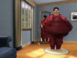 Sims 3 Wreck-It Ralph by Beast72