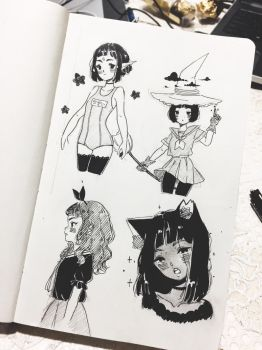 some doodles  by Banhuu1