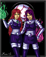 Sisters by Acaciathorn by teentitans