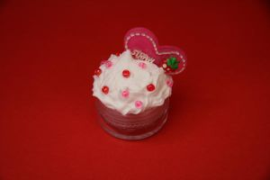 Strawberry Heart Deco x by RawrRufus