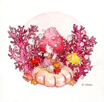 Coral (Wagashi Series) by zeldavart