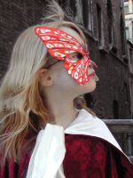 Butterfly mask Venice 2 by Rivendell-PhotoStock