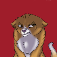 Grumpy cat by Tuxn
