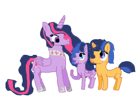 My Flashlight Foals by Seabluewolf
