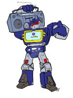 rockin soundwave by ViXX313