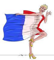 Concours Mascotte pour France-Expression 2014 by Aleayo