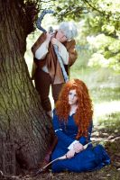 Jack and Merida by xPixieSoulx