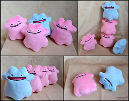 Ditto Beanies by lazyperson202