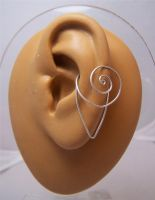 Ear Jewelry: Nautilus Cuff by Bright-Circle