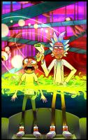 Its Just The Atmosphere Absorbing Your Skin, Morty by StarJita