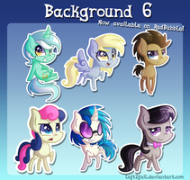 Chibi- Background 6 by Left2Fail