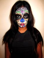 Sugar skull by TamiTw