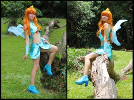 blue fairy Bloom -  Winx Club Cosplay by MishiroMirage
