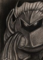 Meta Knight Portrait by JessySketches