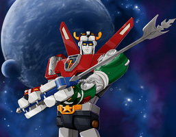 WIP-Voltron by shaotemp