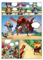 Dinosaur King page 25 by UltimateRubberFool