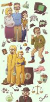 Breaking Bad by asmithart