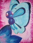 Be free, butterfree by Sieras
