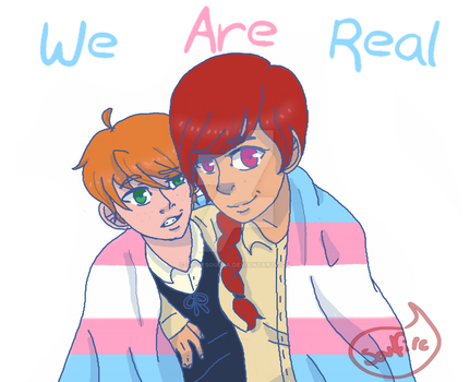 We are Real by Soulfire402