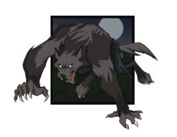 mad wolf by curseone