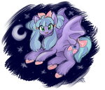 Cutie Batpony Adopt (CLOSED) by starfox365