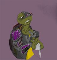 Donatello Zee Cyborg by FrothingLizard