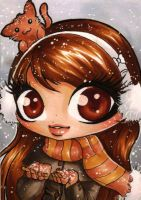 ACEO 55: Winter Song by Forunth