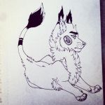 Jewel dog by Polionster