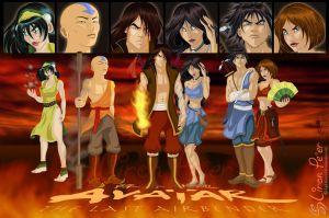 The Last Airbender 01 + 12.09 by LPDisney