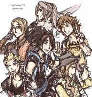 More FF8 genderbend by Jassikorandoms