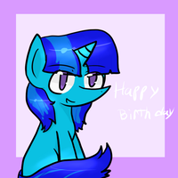 Happy B-Day Stardust by 99fluffball