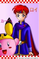 Kirby and Roy picture by SigurdHosenfeld