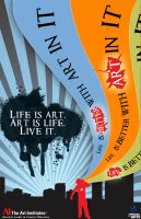 Life is better with art in it by AirCrafT