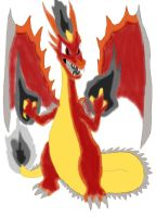 Make A Mix Of X And Y charizard Z by daylover1313