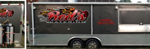 Red's Catering Logo by tbtyler