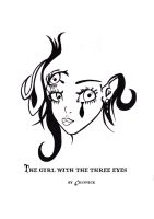 The girl with the three eyes by Crusnick