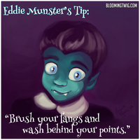 Eddie Munster by bakabunny