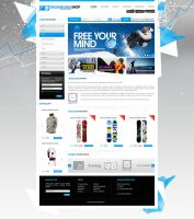 MySki Website by Doli7