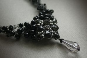 Lacrima - necklace by Bodza